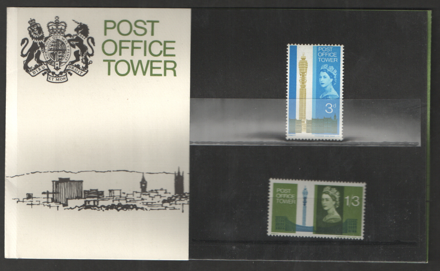 1965 Post Office Tower (Phosphor) Presentation Pack